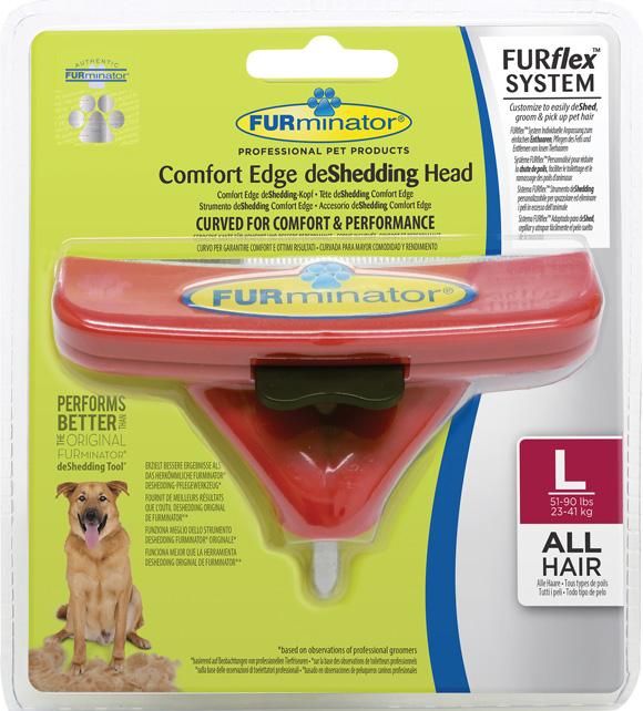 Furminator Furflex dla dużego psa - głowica