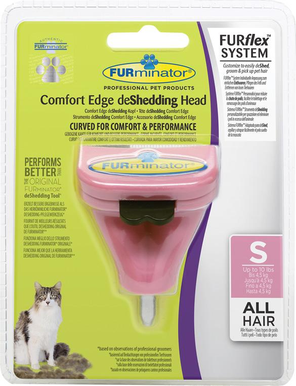 Furminator Furflex dla kota - głowica