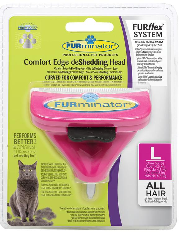 Furminator Furflex dla dużego kota - głowica