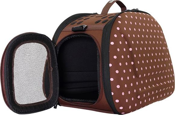 Ibiyaya brązowa torba transportowa dla psa i kota