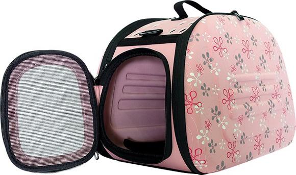 Ibiyaya różowa torba transportowa dla psa i kota
