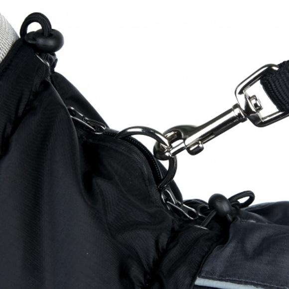 trixie prime czarny plaszcz dla psa