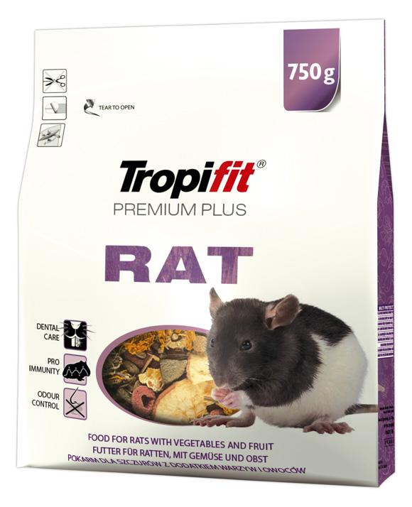 Tropifit karma dla szczura