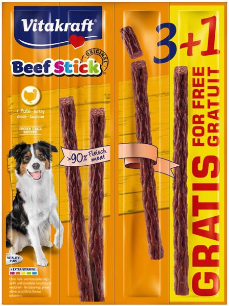 vitakraft kabanosy dla psa w promocyjnym opakowaniu