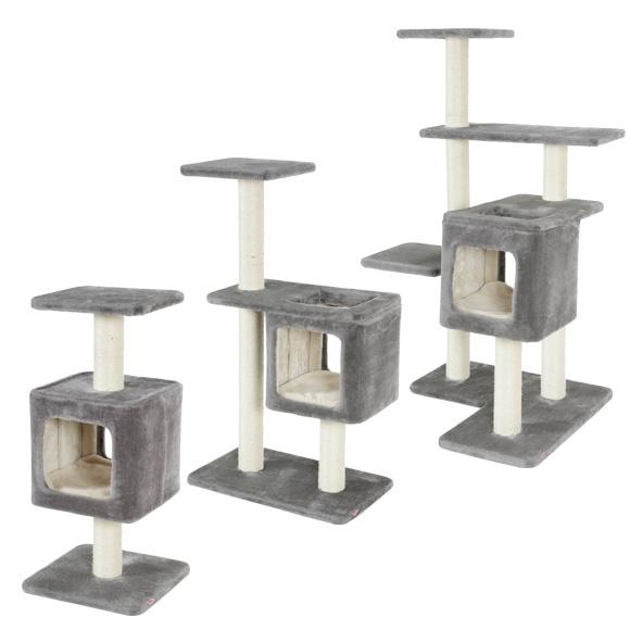 zolux Cube drapaki dla kota szare
