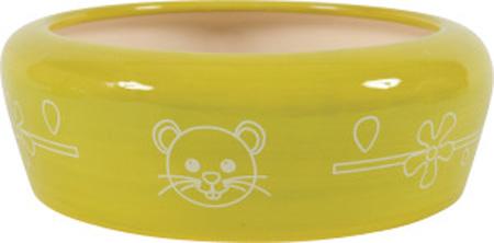 ceramiczna miska dla gryzonia